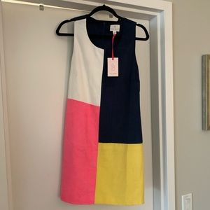 Julie Brown Color block Leah dress 👗 size 6